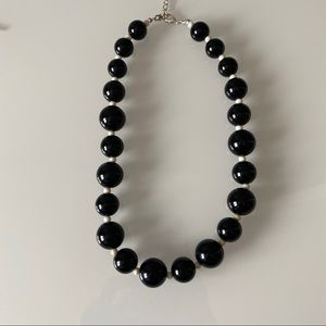Banana Republic | Black Bead Necklace